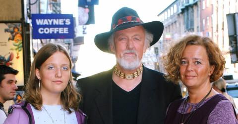 Ewert Ljusberg Familj